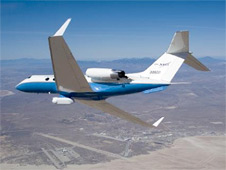NASA's Gulfstream-III research aircraft