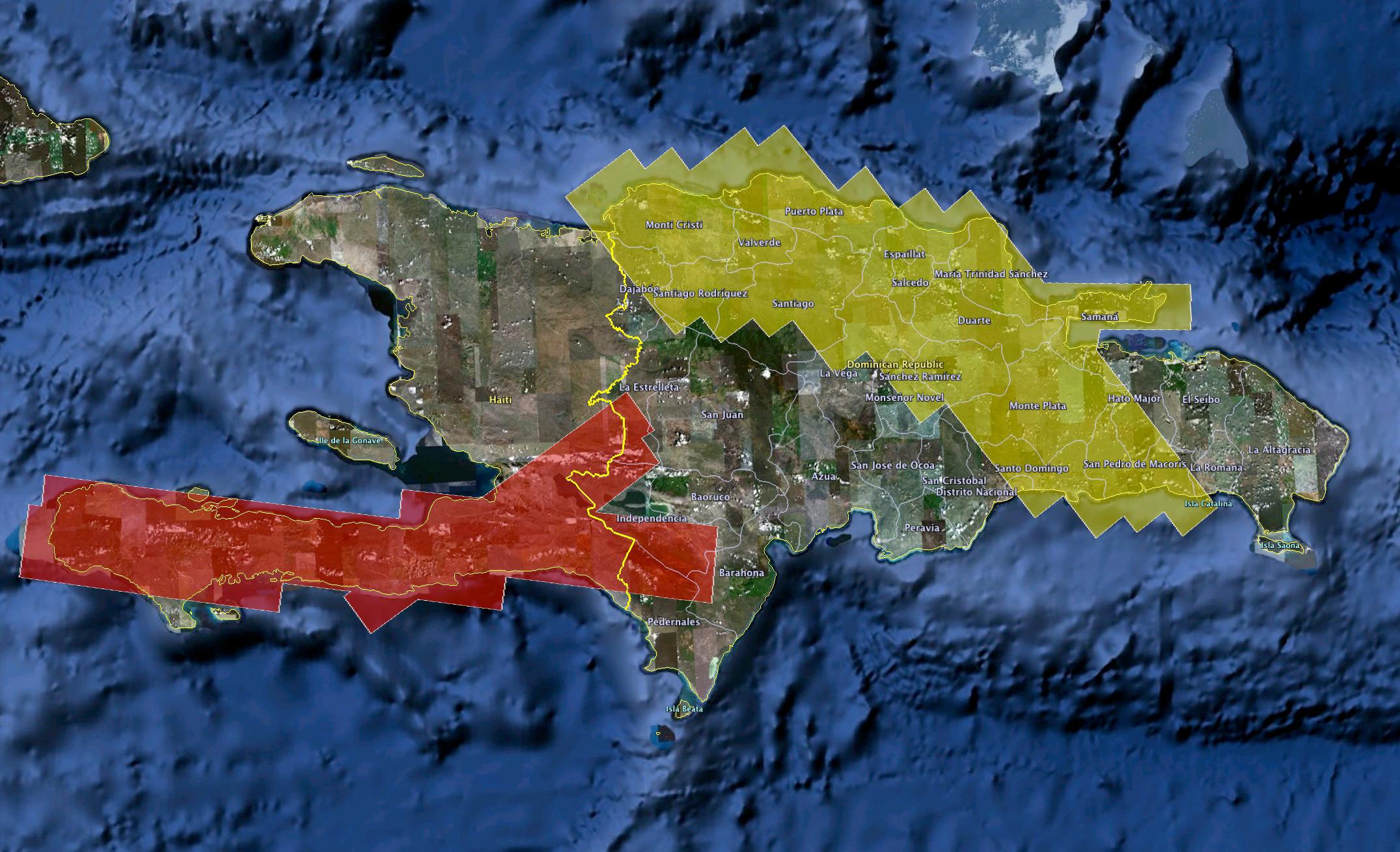 Nasa nasa airborne radar to study quake faults in haiti larger image gumiabroncs Gallery