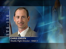 Chris Edelen -- Orbit 3 Shuttle Flight Director