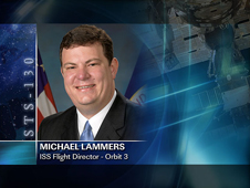 Michael Lammers -- Orbit 3 ISS Flight Director