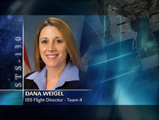 Dana Weigel -- Team 4 ISS Flight Director