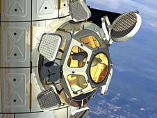 Cupola on the ISS