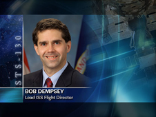 Robert Dempsey -- Lead ISS Flight Director