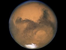 Mars at Opposition in 2003, seen by the Hubble Space Telescope