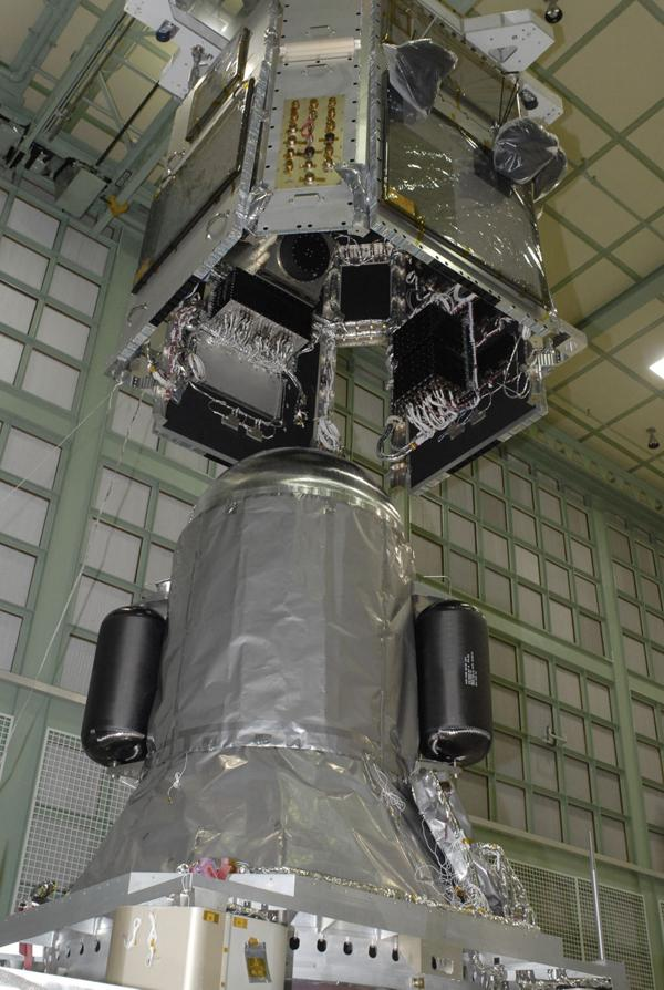 NASA - Mating of Spacecraft Bus and Propulsion Module