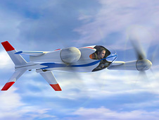 Puffin personal air vehicle concept