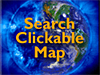 Earth with the words Search Clickable Map superimposed