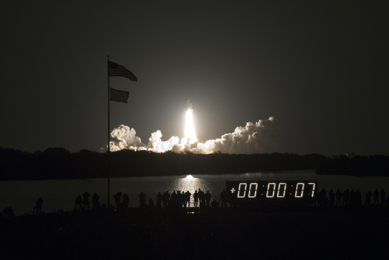 covertress: Last Night Launch of the Shuttle Program