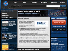 OpenGov Webpage screenshot