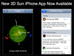 3D Sun iPhone app images