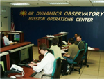 SDO's Mission Operations Center at Goddard