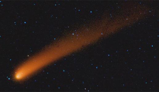 Nasa Ablaze With Infrared Light