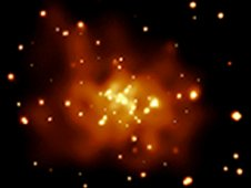 Chandra Xray image of M31