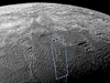 South pole of Enceladus