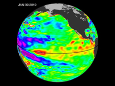 Temperatures of the Ocean from NASA
