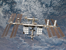 S130-E-012040 -- International Space Station