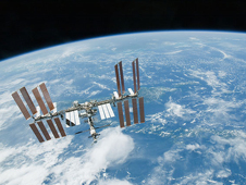 S130-E-012141 -- International Space Station