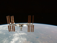 S130-E-012155 -- International Space Station