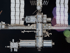 S130-E-012215 -- International Space Station