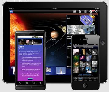 Aplicaciones para tu celular de la NASA