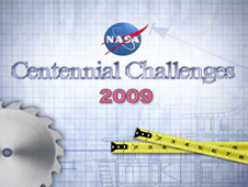 text saying 2009 Centennial Challenges