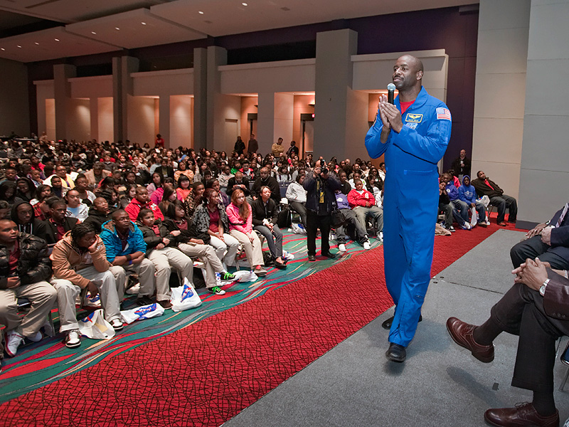 Astronaut Leland Melvin attends the 2nd Annual william
