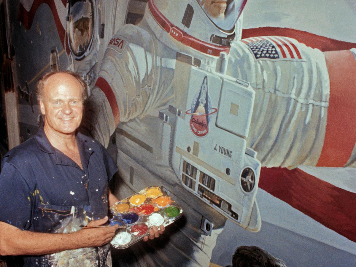 Nasa Robert Mccall Painting Our Place In Space