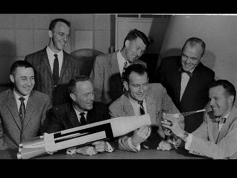 original 7 astronauts - photo #12