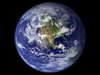 This view of Earth comes from NASA's Moderate Resolution Imaging Spectroradiometer aboard the Terra satellite.