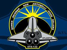 sts132s001 -- STS-132 insignia
