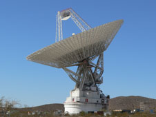 Deep Space Network satellite dish