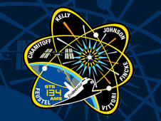 STS-134 crew patch