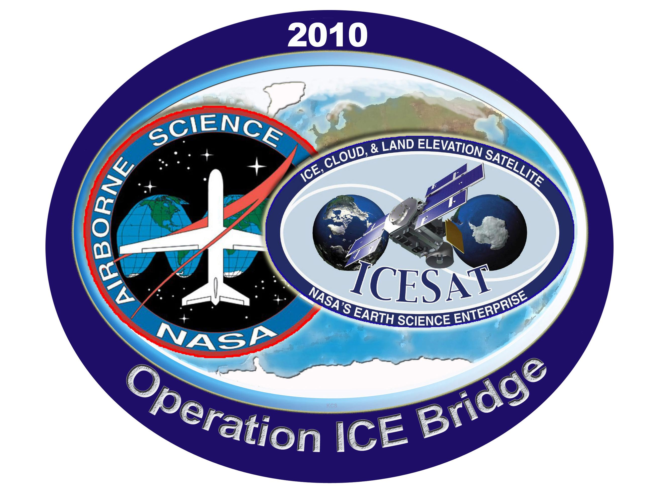 Logo for the IceBridge Mission