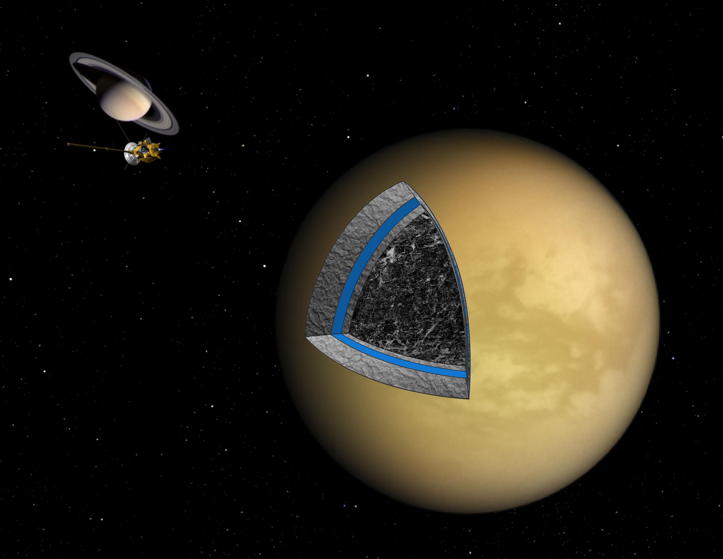 cassini satellite with neptune - photo #28