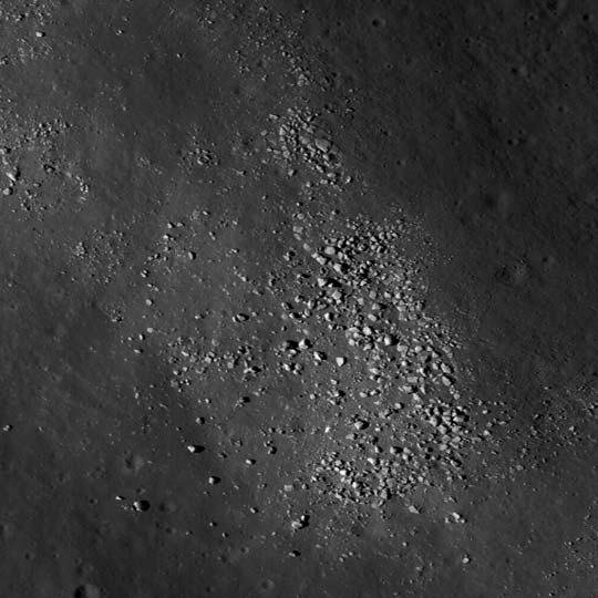 Boulders on a wrinkle ridge in Mare Crisium may help us understand the geology of this region of interest.