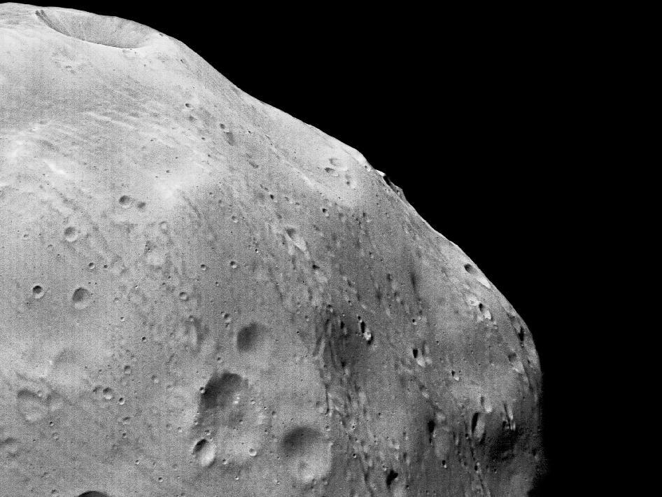 phobos closeup