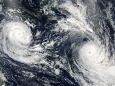 MODIS image of Tomas and Ului