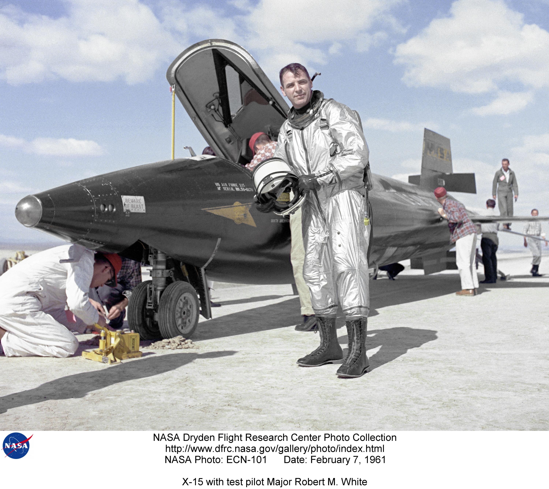X-15 Pilot Robert White Dies