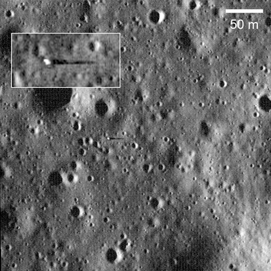 LRO image of Surveyor 6