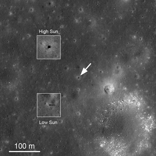 LRO image of Surveyor 1