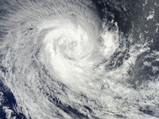 MODIS image of Tropical Storm Imani