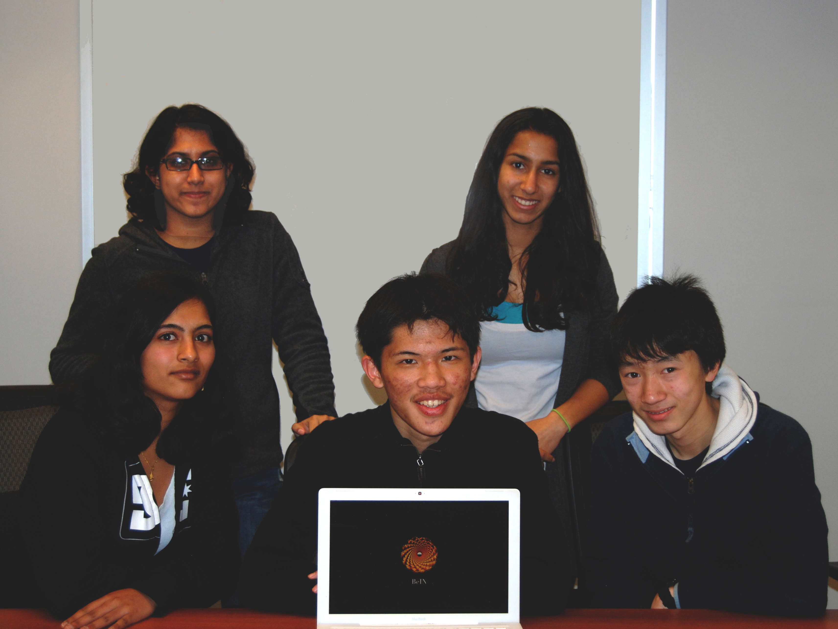 The student team from Monta Vista High School in Cupertino