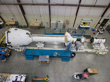 JSC2009-E-228154 -- Orion's Pad Abort-1 test vehicle