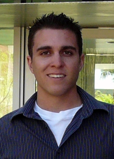 Alex Maldonado is University of Arizona graduate student in  optical engineering working half-time at Goddard as a co-op student