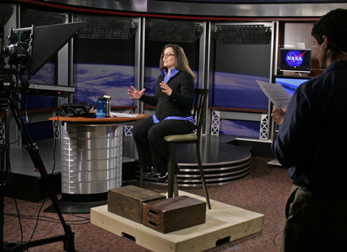 On April 2, 2010, NASA Goddard cryospheric scientist Lora Koenig spoke with TV stations across the United States regarding NASA's Operation IceBridge mission and the 2010 Arctic sea ice maximum.