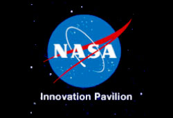 NASA Logo and Open Innovation Text