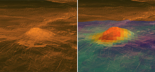 venus volcanoes nasa - photo #12