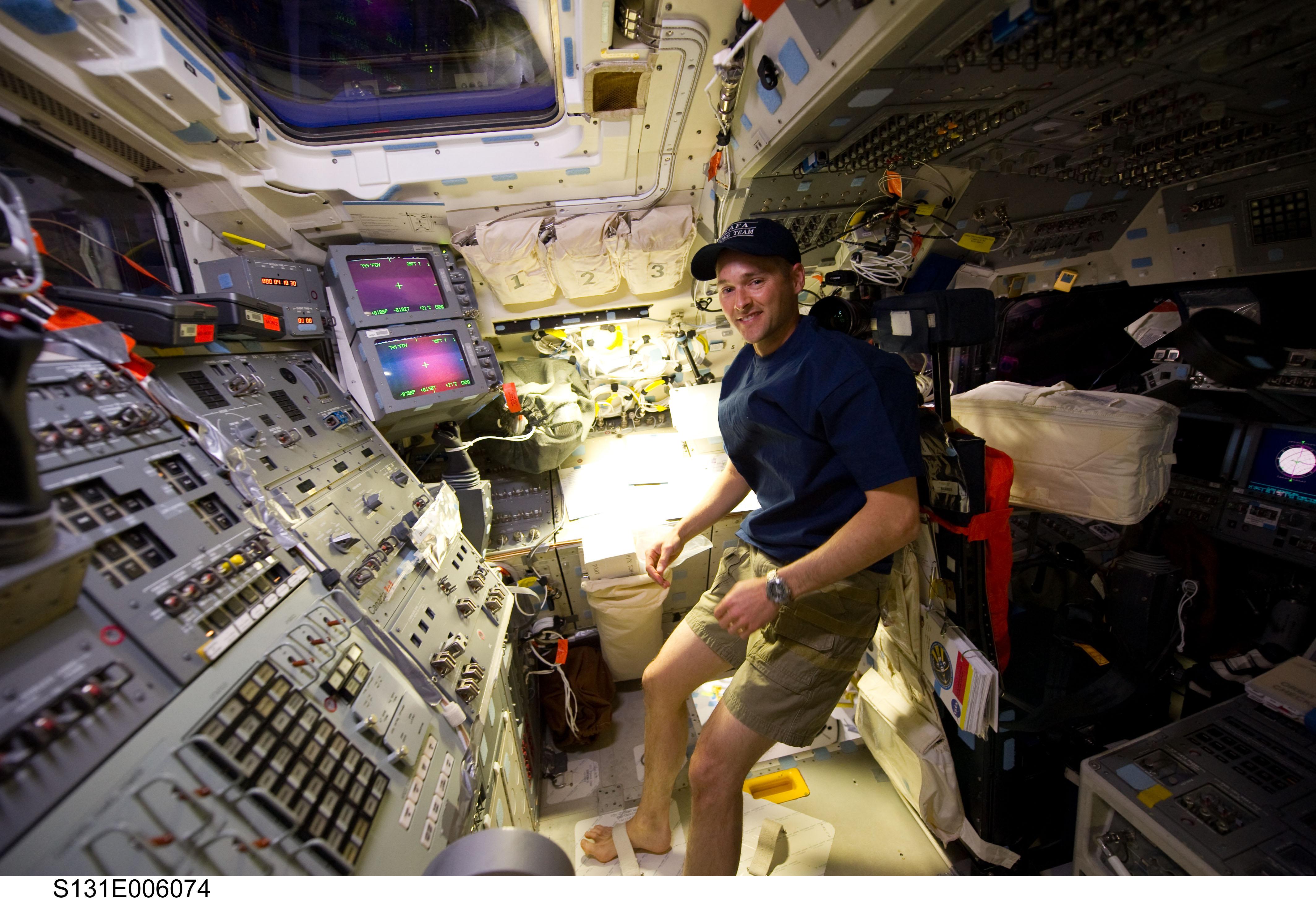 space shuttle interior tour - photo #20