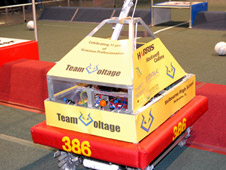 Team Voltage robotic entry