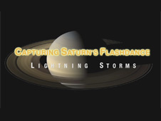 Saturn's Flashdance of Lightning